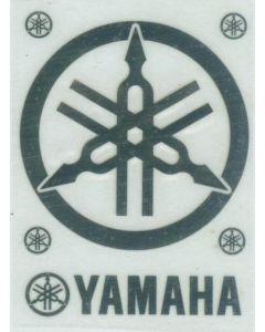 ACMS009 A+Club Yamaha logo metal stickers