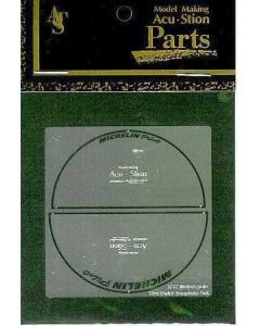 ACU7961 Acustion 1/12 Motorcycle tire (Michelin) paint template set