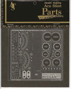 ACU8624 Acustion 1/24 Xanavi NISMO GT-R (R35) mechanical parts set