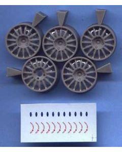 ALM012 All Model 1/24 Wheels OZ 18inch