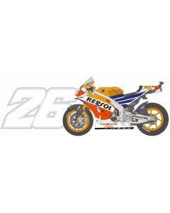 BS12009 Blue Stuff 1/12 Honda RC213V 2014 #26 Brno 2014 winner