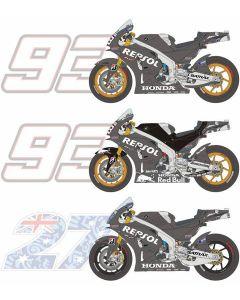 BS12010 Blue Stuff 1/12 Honda RC213V 2014/2015 Test bike