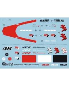 BS12014 Blue Stuff 1/12 Yamaha YZF-R1 20th Anniversary