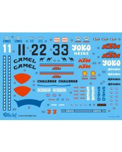 BS12020 Blue Stuff 1/12 KTM 250MX 1984 Riders