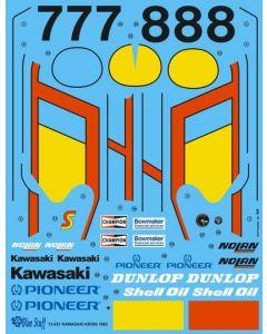 BS12021 Blue Stuff 1/12 Kawasaki KR500 1982