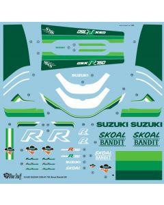 """BS12025 Blue Stuff 1/12 Suzuki GSX-R750 """"Skoal Bandit"""" 1986"""