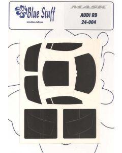 BS24004 Blue Stuff 1/24 Audi R8 vynil masks