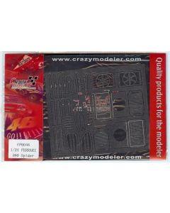 CMEP0046 Crazy Modeler 1/24 Ferrari 360 Spider photo-etched set