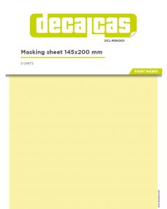 DCLMSK003 Decalcas Masking sheet