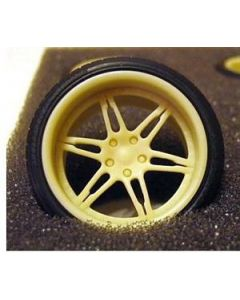 "GW003 GeronimoWorks 1/24 19"" Savini SV-11 resin wheel and tyre set"
