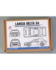 HD020387 Hobby Design 1/24 Lancia Delta S4 detail-up set