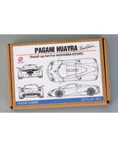 HD020388 Hobby Design 1/24 Pagani Huayra Pacchetto Tempesta detail-up set