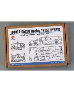 HD020394 Hobby Design 1/24 Toyota Gazoo Racing TS050 Hybrid detail-up set