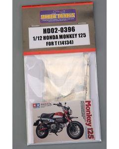 HD020396 Hobby Design 1/12 Honda Monkey 125 detail-up set