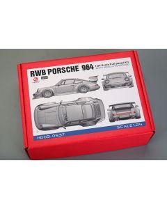 HD030537 Hobby Design 1/24 RWB Porsche 964 full detail kit