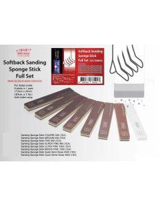 IMISS0000G Infini Model Softback Sanding Sponge Stick Full Set