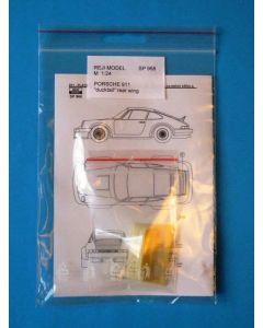 REJISP968 Reji 1/24 Porsche 911 duck tail rear wing