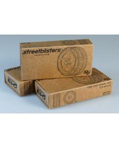 SB10001 StreetBlisters 1/24 SB-EVO Wheel set