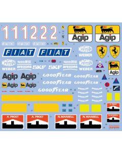 SHKD355 Shunko Models 1/12 Ferrari 641/2 (F190) 1990