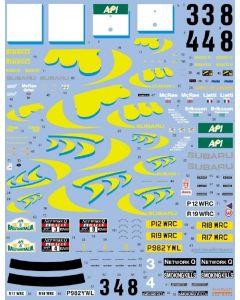 SHKD399 Shunko Models 1/24 Subaru Impreza 555 #3/#4 Australia/RAC 1997 winners