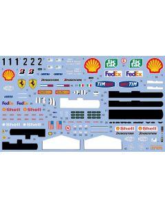 SHKD419 Shunko Models 1/20 Ferrari F2001 2001