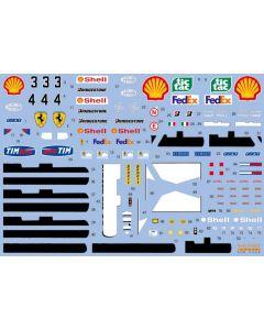 SHKD426 Shunko Models 1/20 Ferrari F1-2000 2000 season