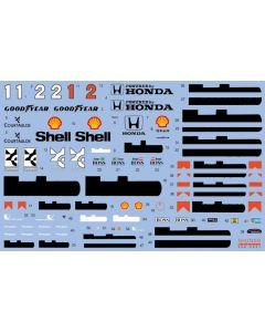 SHKD427 Shunko Models 1/20 McLaren MP4/7 1992 season