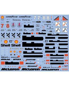 SHKD428 Shunko Models 1/20 McLaren MP4/8 1993 season