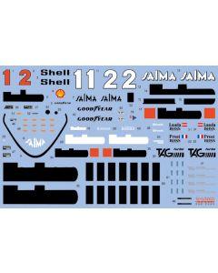 SHKD430 Shunko Models 1/20 McLaren MP4/2B 1985 season