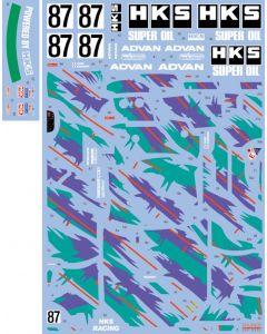 SHKD434 Shunko Models 1/24 HKS Skyline GT-R Gr.A (BNR32) #87 JTCC 1993