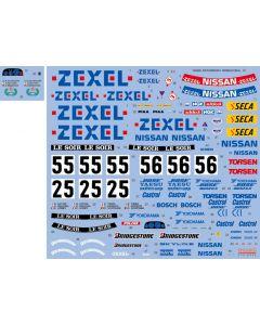 """SHKD440 Shunko Models 1/24 Nissan Skyline GT-R Gr.A (BNR32) """"Team Zexel"""" Spa 24Hours 1990-1991"""