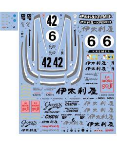 "SHKD441 Shunko Models 1/24 Porsche 935 K3 ""Gozzy Kremer Racing"" 1980-1981"