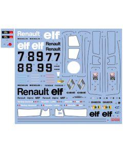 SHKD442 Shunko Models 1/24 Renault Alpine A442 Works Team Le Mans 1977