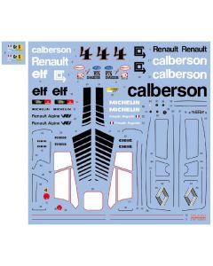 "SHKD444 Shunko Models 1/24 Renault Alpine A442A ""Calberson"" #4 Le Mans 1978"
