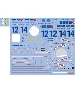 """SHKD446 Shunko Models 1/24 Porsche 936-78 """"Essex"""" #12/#14 Le Mans 1979"""