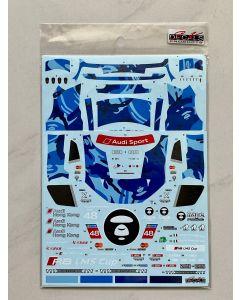 "SK24135 SK Decals 1/24 Audi R8 LMS ""AAPE Phoenix Racing Asia"" #48 Cup Sepang 2016 winner"