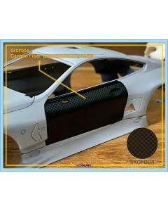 SKCF004 SK Decals Carbon Fiber Decal Pattern D