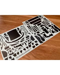 SKCS003 SK Decals 1/24 BMW M6 GT3 carbon decal