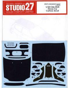 ST27CD24023 Studio 27 1/24 Honda Civic EG6 dress-up carbon decal