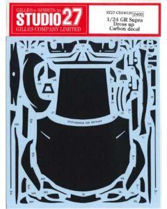 ST27CD24036 Studio 27 1/24 Toyota GR Supra dress up carbon decal