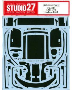 ST27CD24037 Studio 27 1/24 Audi R8 LMS GT3 carbon decal