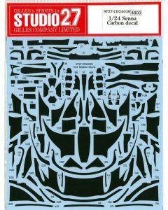 ST27CD24039 Studio 27 1/24 McLaren Senna carbon decal