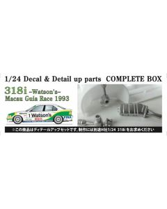 "ST27CP24002 Studio 27 1/24 BMW E36 318i ""Team Schnitzer"" #1/#2/#3 Macau Guia Race 1993 detail up set"