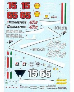 ST27DC747C Studio 27 1/12 Ducati MotoGP Italy 2006