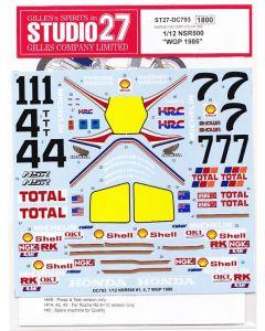 "ST27DC793 Studio 27 1/12 Honda NSR500 ""Rothmans"" WGP 1986"