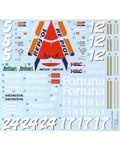"ST27DC799 Studio 27 1/12 Honda NSR500 ""Team Pons"" WGP 1995/1996"
