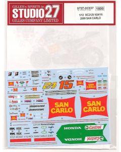 "ST27DC837 Studio 27 1/12 Honda RC212V ""San Carlo"" #15/#24 MotoGP 2009"