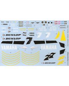 "ST27DC839 Studio 27 1/12 Yamaha YZR-M1 ""Tech 3"" #7/#77 MotoGP 2006"