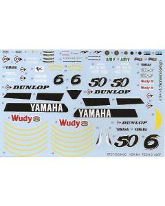 "ST27DC840 Studio 27 1/12 Yamaha YZR-M1 ""Tech 3"" #6/#50 MotoGP 2007"