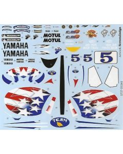 ST27DC843 Studio 27 1/12 Yamaha YZR-M1 #5 USGP 2006